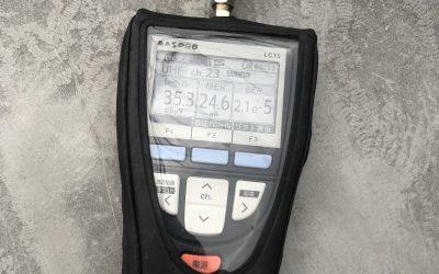 家庭用アンテナの電波点検